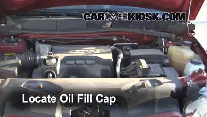 how to change oil on 2006 pontiac pursuit