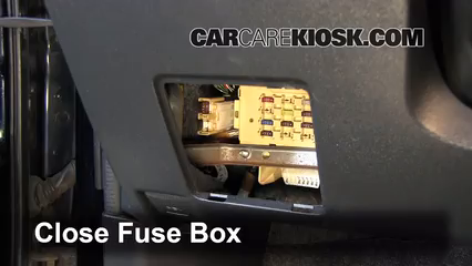 interior fuse box location 2004 2006 scion xb 2005 scion xb 1 5l 4 cyl