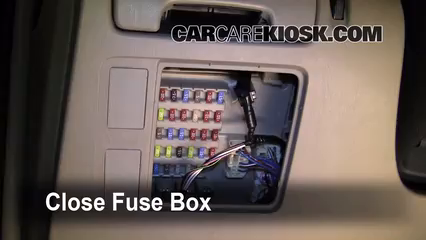 Interior    Fuse       Box    Location  20022006    Toyota       Camry     2006