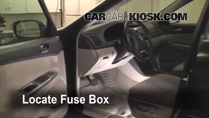 Fuse Interior Part on 2006 Toyota Corolla Fuse Box Location