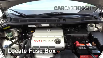 replace a fuse 2004 2010 toyota sienna 2006 toyota. Black Bedroom Furniture Sets. Home Design Ideas