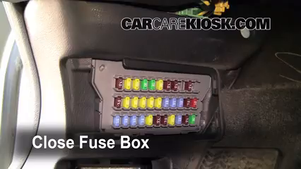 interior fuse box location acura tl acura tl l v
