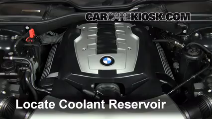 Bmw Coolant Low bmw low coolant adding coolant low