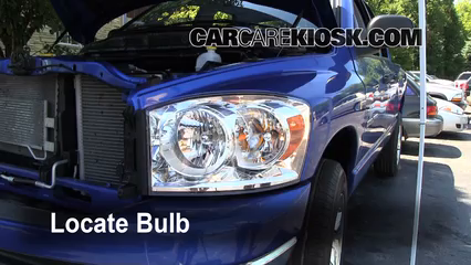 headlight change 2006 2008 dodge ram 1500 2007 dodge ram. Black Bedroom Furniture Sets. Home Design Ideas