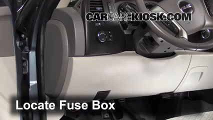 interior fuse box location 2004 2012 chevrolet colorado 2007 interior fuse box location 2004 2012 chevrolet colorado 2007 chevrolet colorado ls 3 7l 5 cyl extended cab pickup 4 door