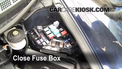 blown fuse check 2006 2011 honda civic 2007 honda civic lx 1 8l 6 replace cover secure the cover and test component