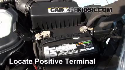 how to change a car battery hyundai elantra