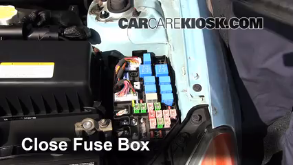 Replace A Fuse 2006 2011 Hyundai Accent 2007 Hyundai