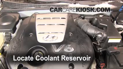 Coolant Flush How to Hyundai Azera 2006 2011 2007