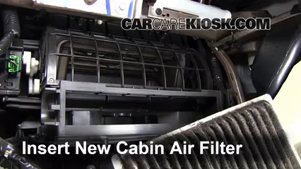 Replacing Air Conditioner Filter Cabin Filter Replacement: Lincoln MKX 2007-2015 - 2007 ...