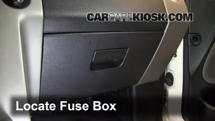 interior fuse box location   lincoln mark lt
