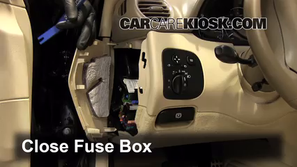 interior fuse box location 2003 2009 mercedes benz clk550. Black Bedroom Furniture Sets. Home Design Ideas