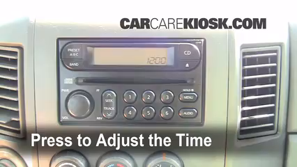 how to set the clock in a 2004 cavalier