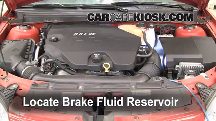 Add Brake Fluid 2005 2010 Pontiac G6 2007 Pontiac G6 3