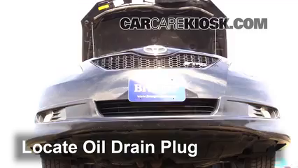 how to change oil on toyota camry