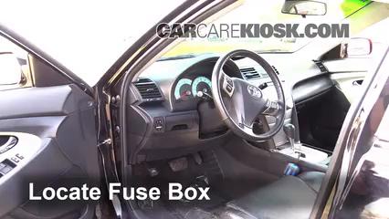interior fuse box location: 2007-2011 toyota camry - 2007 ... 2007 toyota camry interior fuse box 2007 toyota sienna interior fuse box