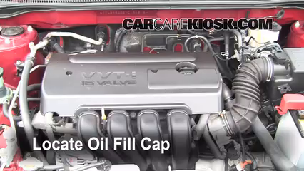 how to change youtube motor oil in toyota corolla