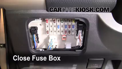 interior fuse box location 2007 2014 toyota fj cruiser. Black Bedroom Furniture Sets. Home Design Ideas