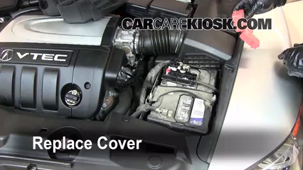 service manual how to change battery 2004 acura rl. Black Bedroom Furniture Sets. Home Design Ideas