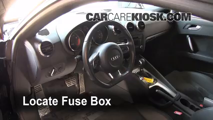 Interior Fuse Box Location 2008 2015 Audi TT Quattro