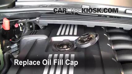 How to Add Oil BMW 335i 20062013  2008 BMW 335i 30L 6 Cyl