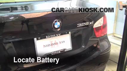 Battery Replacement 20062013 BMW 328i  2007 BMW 328i 30L 6 Cyl