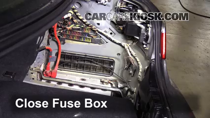 replace a fuse 2004 2010 bmw 535xi 2008 bmw 535xi 3 0l 6 cyl 6 replace cover secure the cover and test component
