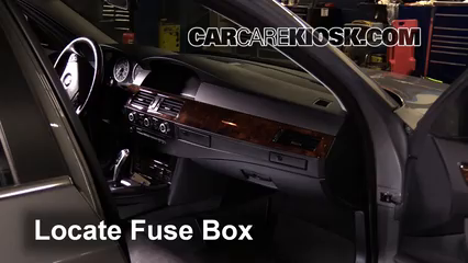 interior fuse box location 2004 2010 bmw 535xi 2008 bmw 535xi interior fuse box location 2004 2010 bmw 535xi 2008 bmw 535xi 3 0l 6 cyl turbo sedan