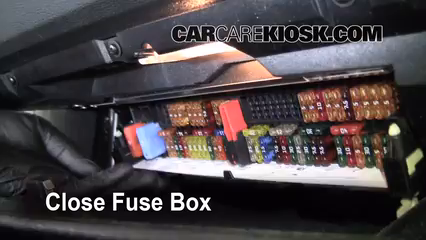 Interior Fuse Box Location 2004 2010 Bmw X3 2008 Bmw X3