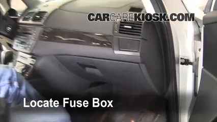 bmw fuse box location interior fuse box location 2004 2010 bmw x3 2008 bmw x3 3 0si interior fuse box