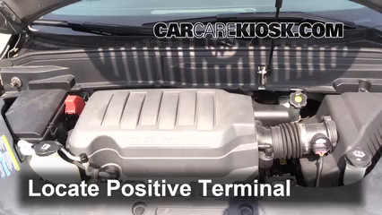 Buick Enclave Cxl L V Fbattery Locate Part on 2011 Gmc Acadia Battery Jump