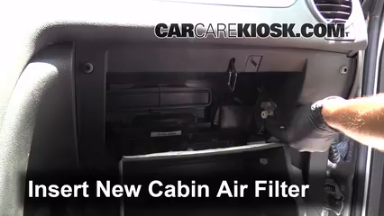 Cabin Filter Replacement: Buick Enclave 2008-2012 - 2008 ...