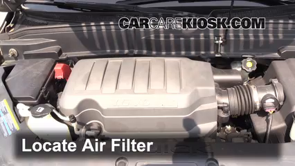 air filter how to 2008 2012 buick enclave 2008 buick 2012 dodge charger fuse box location