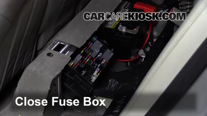Interior Fuse Box Location 2006 2011 Buick Lucerne 2008