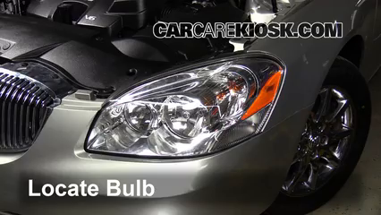 changing headlight in 2008 buick autos post. Black Bedroom Furniture Sets. Home Design Ideas