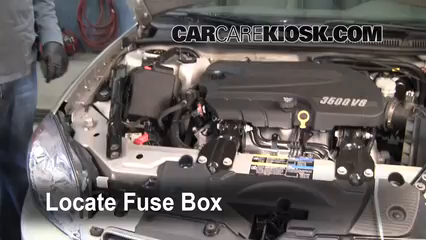 Replace A Fuse 2006 2016 Chevrolet Impala 2008
