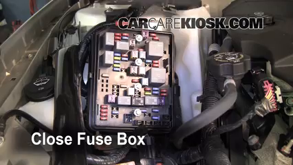 blown fuse check 2006 2016 chevrolet impala 2007 chevrolet 6 replace cover secure the cover and test component