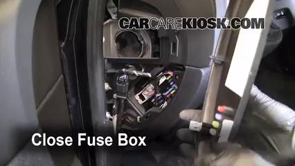 2007-2013 Chevrolet Silverado 1500 Interior Fuse Check ...
