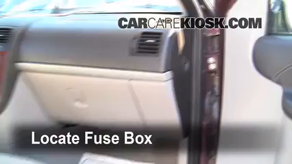 Interior Fuse Box Location 2005 2008 Chevrolet Uplander