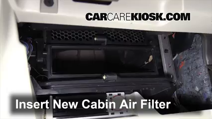 2008-2016 Chrysler Town and Country Cabin Air Filter Check ...