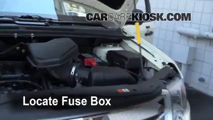 replace a fuse 2011 2014 ford edge 2013 ford edge sel 3 5l v6