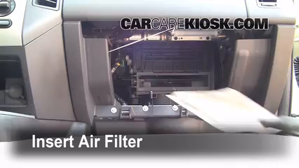 Cabin Filter Replacement: Ford Edge 2007-2010 - 2008 Ford ...
