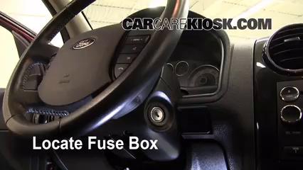2008 Ford Taurus X Limited 3.5L V6%2FFuse Interior Part 1 interior fuse box location 2008 2009 ford taurus x 2008 ford,2008 Fusion Fuse Box