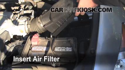 2008 2012 Honda Accord Engine Air Filter Check 2008