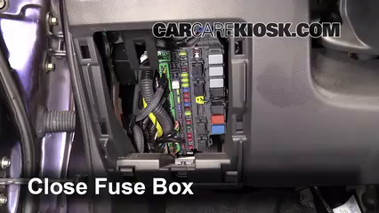 interior fuse box location 2007 2008 honda fit 2008. Black Bedroom Furniture Sets. Home Design Ideas