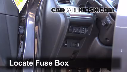 Interior Fuse Box Location 2006 2010 Infiniti M35 2008