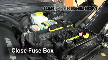replace a fuse 2006 2010 jeep commander 2008 jeep commander 6 replace cover secure the cover and test component