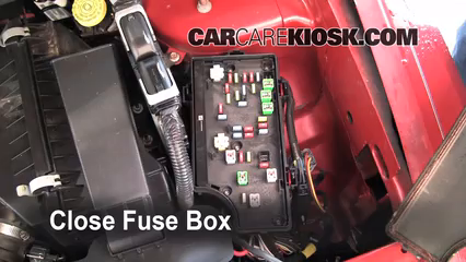 Cambio on fuse box cover dodge ram 1500