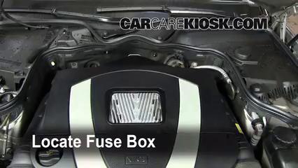 replace a fuse 2003 2009 mercedes benz e350 2008