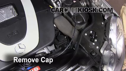 Check Power Steering Level Mercedes Benz E350 2003 2009